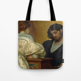 Frederic Lord Leighton - Golden Hours - Vintage Victorian Retro Fine Art Oil Painting Tote Bag