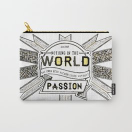 World Quote Carry-All Pouch