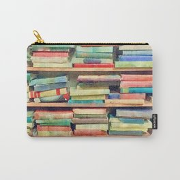 Vintage Bibliophilia Carry-All Pouch