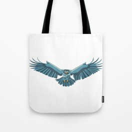 Geometric flying eagle Tote Bag