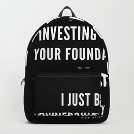 2 | Nipsey Hussle Quotes Backpack