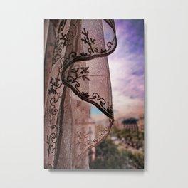 Gaudi's Window Metal Print