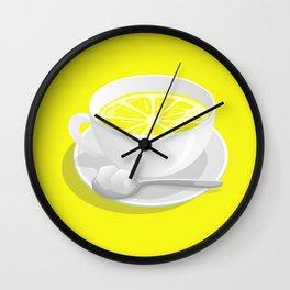 Lemon Tea Wall Clock