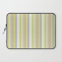 Lime Green Stripe, Ballard Cliff Spring Laptop Sleeve