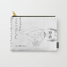 Marcel Proust portrait Carry-All Pouch