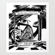 Hikikomori Art Print
