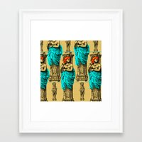 antique Framed Art Prints featuring Antique by CottonMouth
