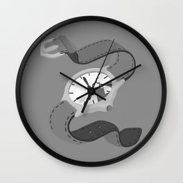 Orphaned Mountain of Hope Wall Clock