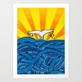 Aleta Art Print