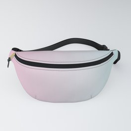 Pink Blue Gradient Fanny Pack