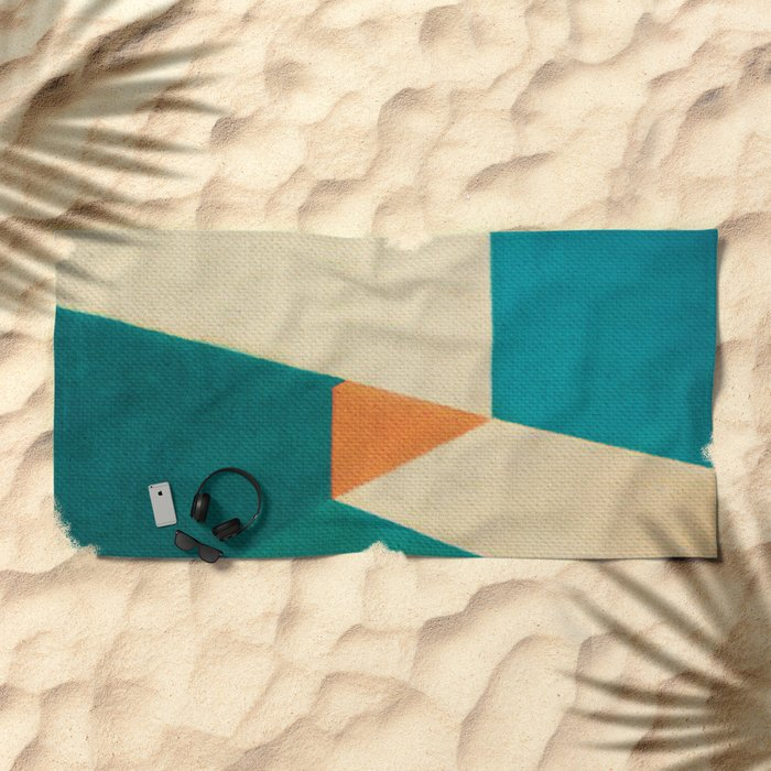 Direction Change 7 Beach Towel