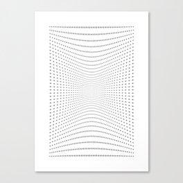 Plus Blowing || Canvas Print