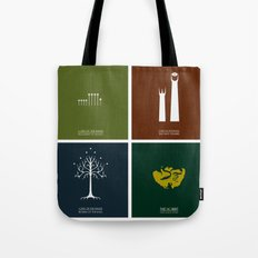 Lord of the Rings - Complete Minimalist Collection Tote Bag