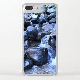 Buderim Falls 2 Clear iPhone Case