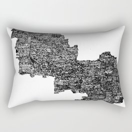 Binary Rectangular Pillow