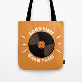 Good Vibes and Warm Tones Tote Bag