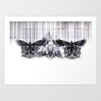 insects Art Prints featuring insects by Alexandra Tamas