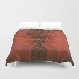 PINEAPPLE ORANGE Duvet Cover