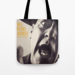 Full Metal Jacket, Stanley Kubrick, alternative movie poster, minimalist print, Vietnam War, Marines Tote Bag