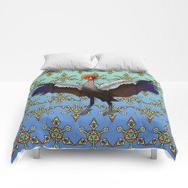 Crowned Crane Comforters
