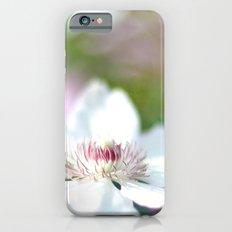 WHITE CLEMATIS Slim Case iPhone 6s