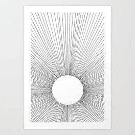 THE BRIGHT VOID Art Print