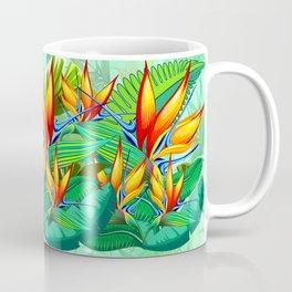 Bird of Paradise Flower Exotic Nature Coffee Mug