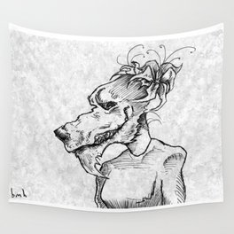 Hows my hair? Wall Tapestry
