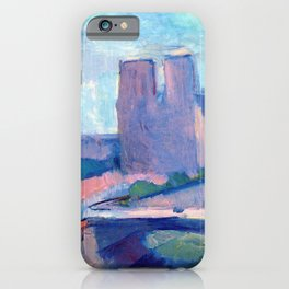 Henri Matisse Notre Dame in the Late Afternoon iPhone Case