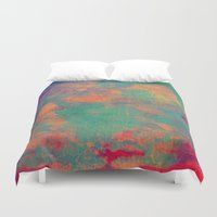 batik Duvet Covers featuring batik by Camila Rodrigué