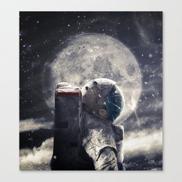 Accompanied Canvas Print