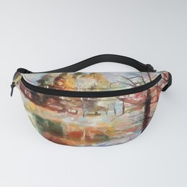 Canaan Valley Pond PhotoArt Fanny Pack