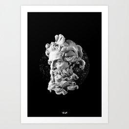 Sculpture Head II Art Print