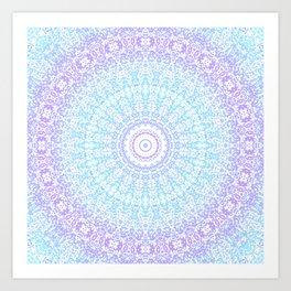 Crystalline Kaleidoscope 1 Art Print