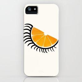 Clockwork Orangina iPhone Case