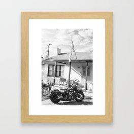 Al's Knucklehead Framed Art Print
