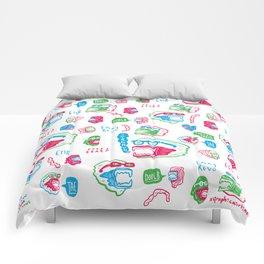 Bite Me Comforters