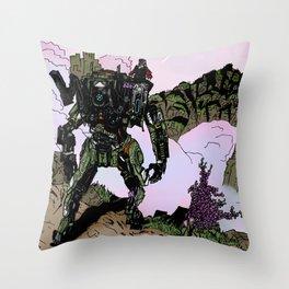 Jack and BT Throw Pillow
