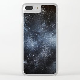 Space Expanse I Clear iPhone Case