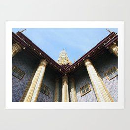 Emerald Budha Art Print