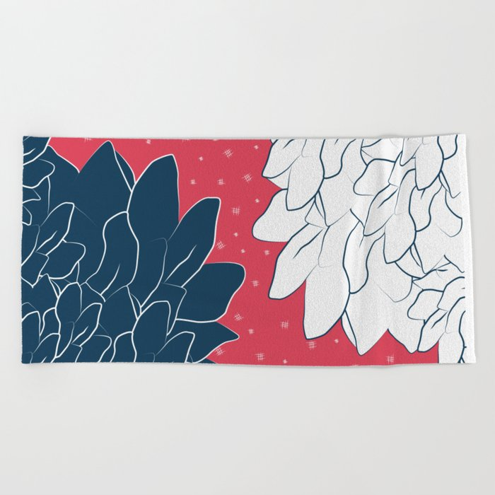 Night & Day Beach Towel