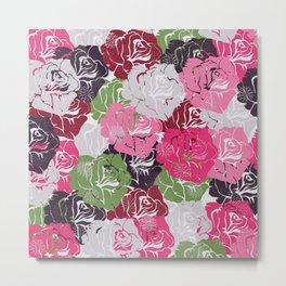 Floral pattern 10 Metal Print