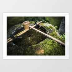 The Purifying Water Art Print