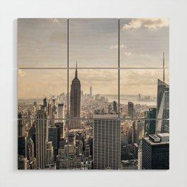 NYC Skyline Wood Wall Art