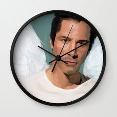 Keanu Reeves Wall Clock