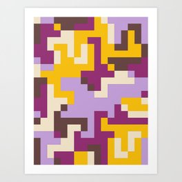 pixel 002 04 Art Print