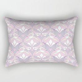 Interwoven XX - Orchid Rectangular Pillow