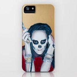 Catrina Sugar Skull, no.2 iPhone Case
