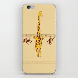 Frustrated Giraffe iPhone Skin