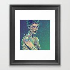 Glow in the Dark Framed Art Print